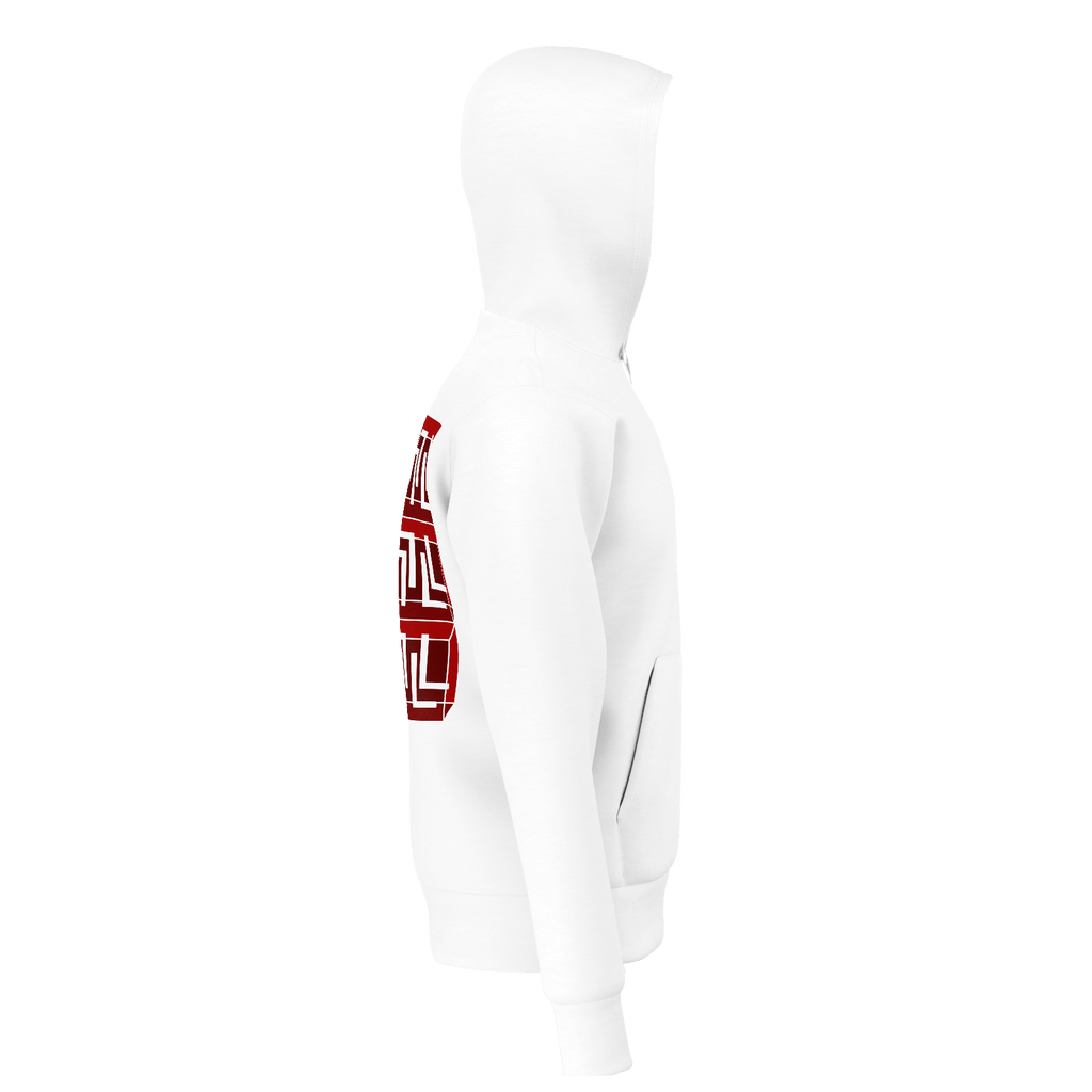 SBLMNL staircase Hoodie Red