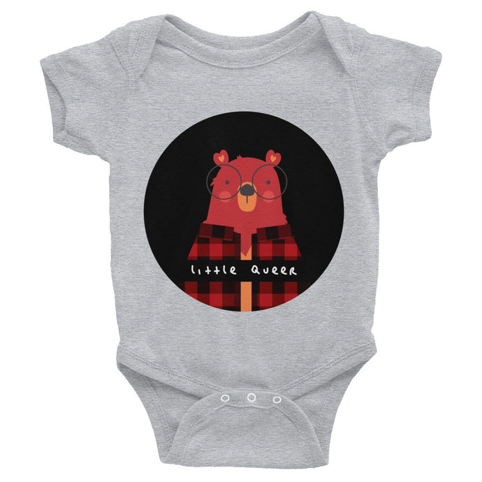 Little Queer Bear (Infant Bodysuit)
