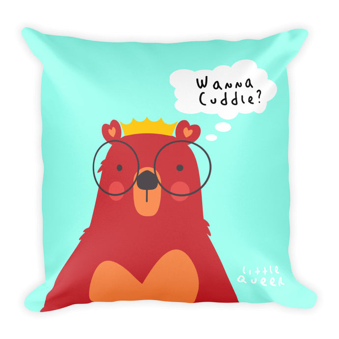 Little Queer Bear (Square Pillow)
