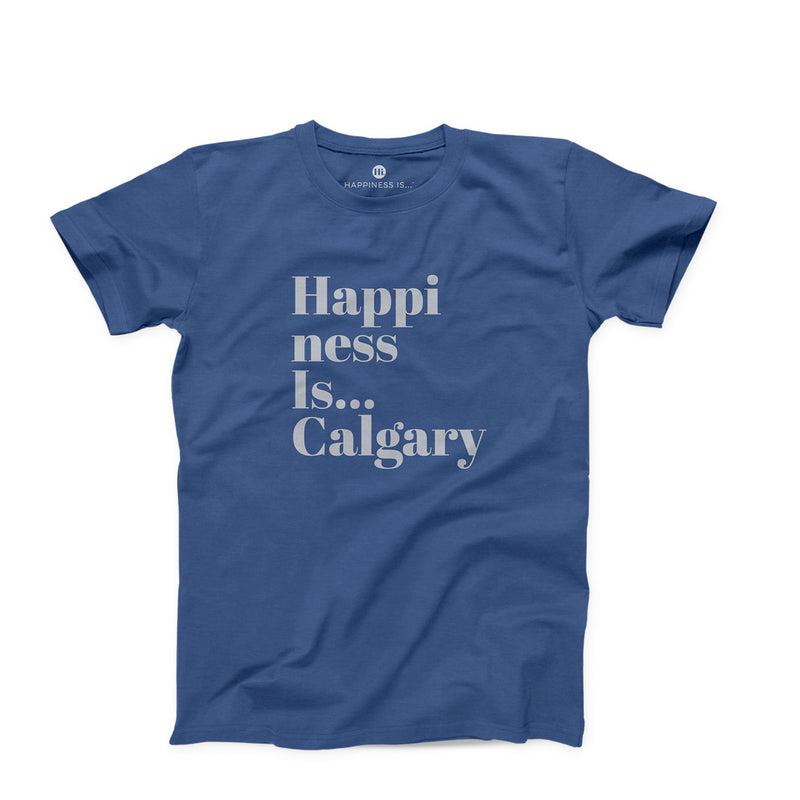 Men's Calgary T-Shirt, Blue