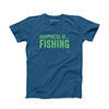 Youth Fishing T-Shirt, Sea Blue