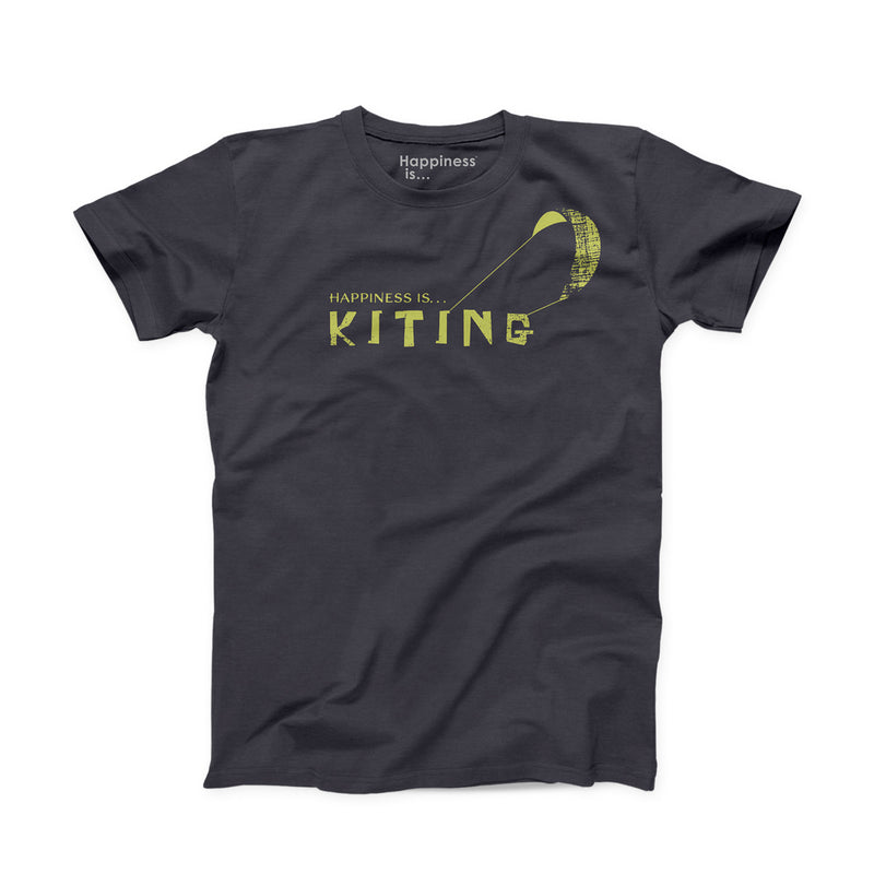 Men's Kiting T-Shirt, Vintage Black