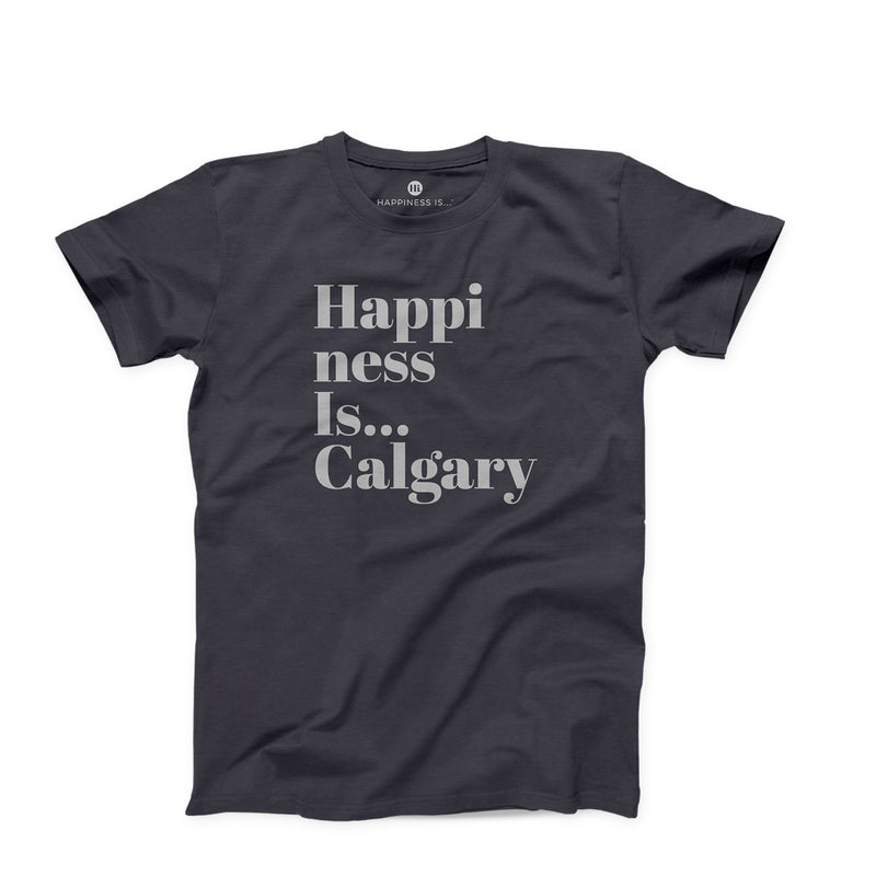Men's Calgary T-Shirt, Vintage Black