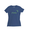 Women's Kiting T-Shirt, Blue