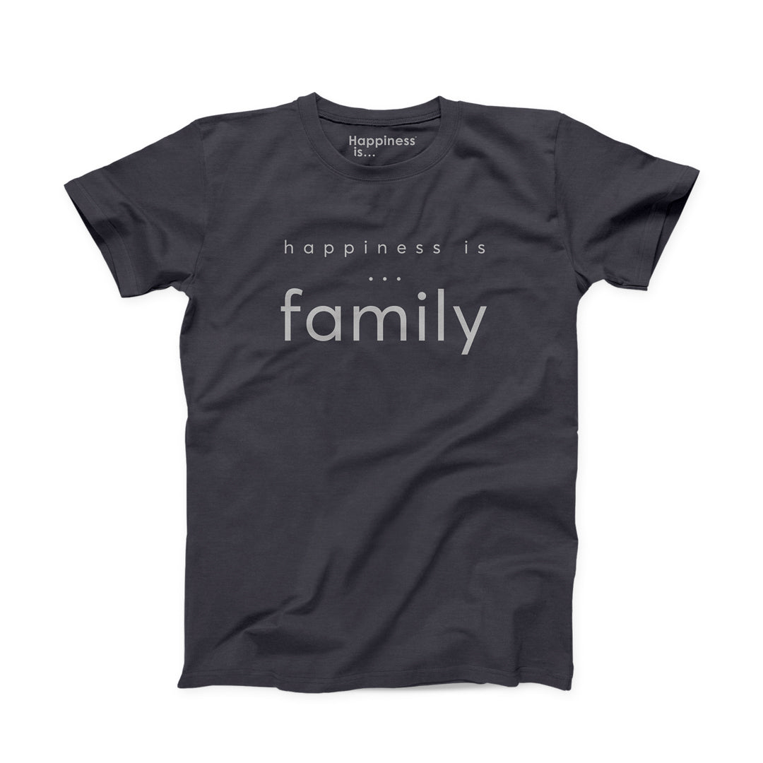 Men's Family T-Shirt - Vintage Black
