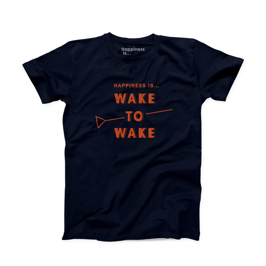 Men's Wake to Wake T-Shirt, Navy