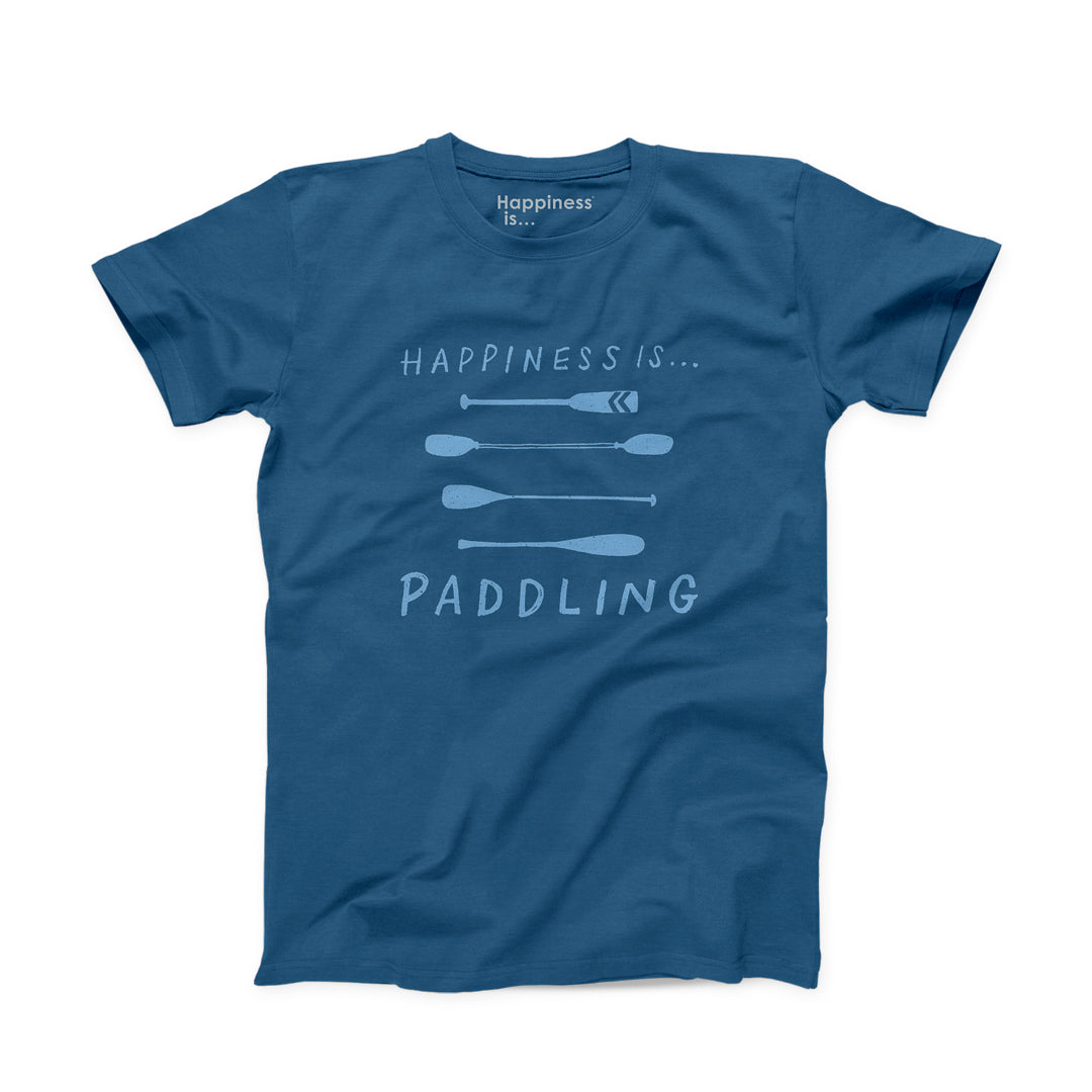 Men's Paddling T-shirt, Sea Blue