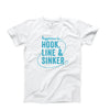 Men's Hook Line & Sinker T-Shirt, White
