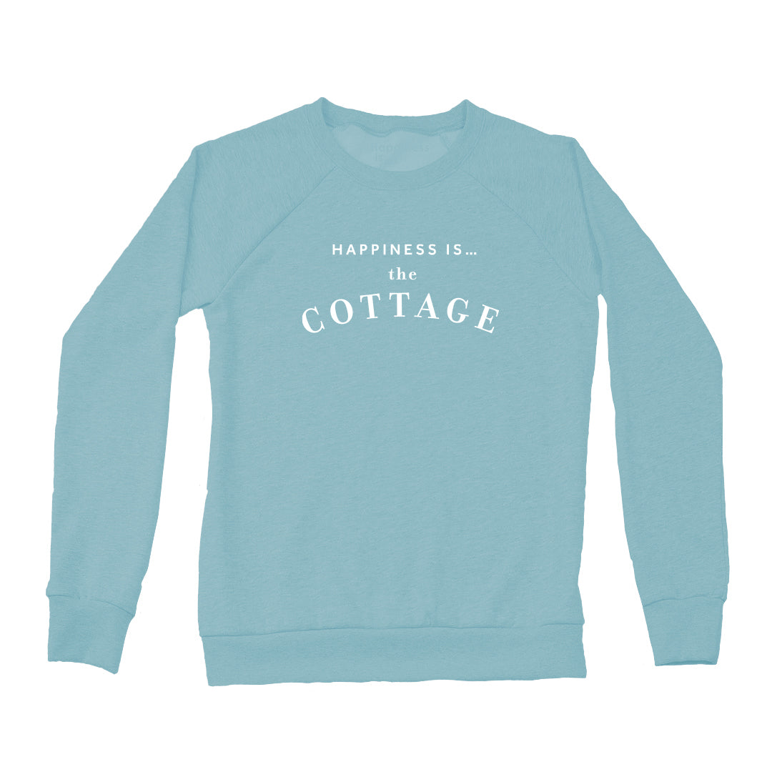 Women's Cottage Crew Sweatshirt, Teal