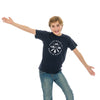 Youth Crest T-Shirt, Navy