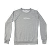 Women's Fresh Powder Crew Sweatshirt, Heather Grey