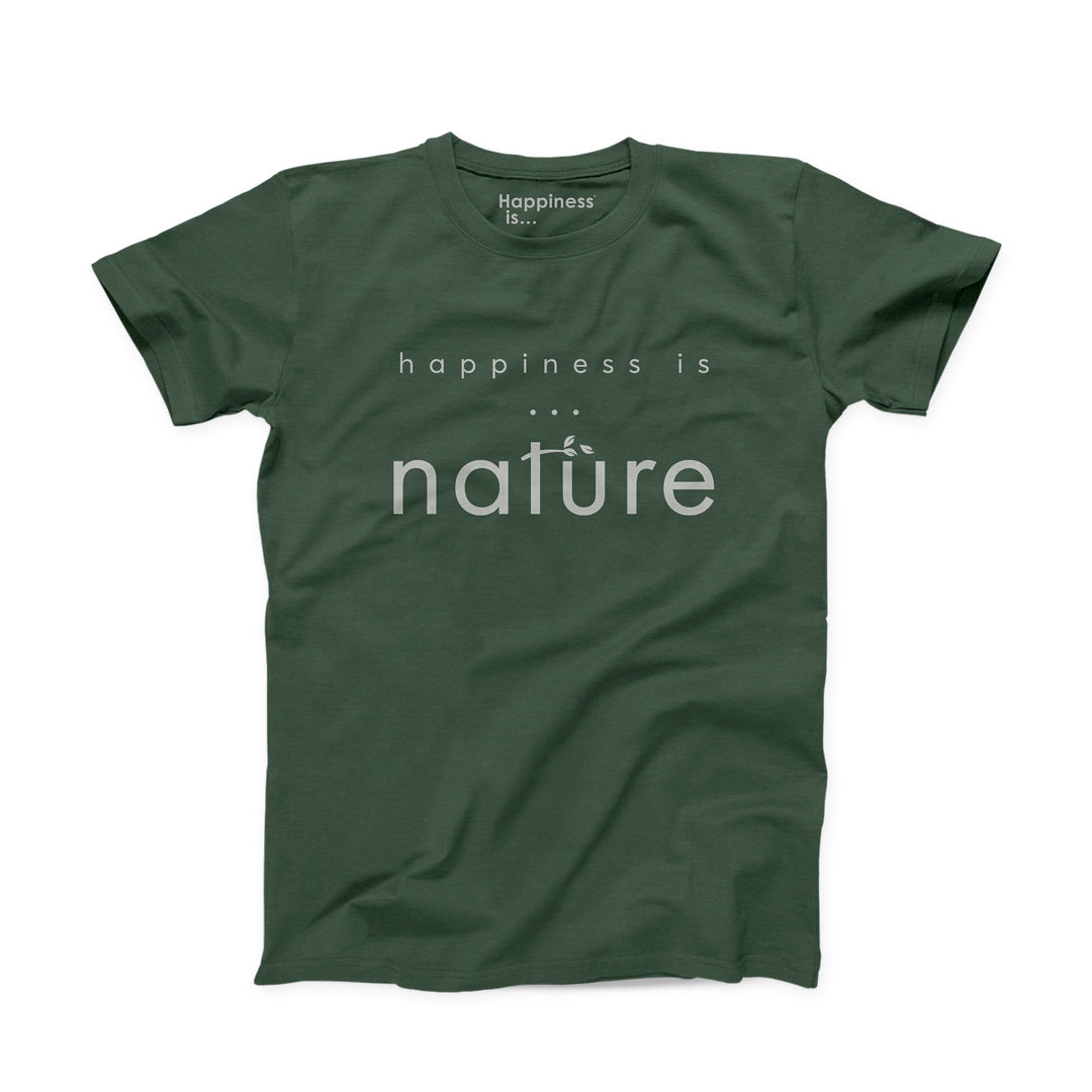 Men's Nature T-Shirt, Forest Green