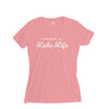 Youth Girls Lake Life T-Shirt, Pink