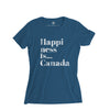Youth Girls Happi T-Shirt, Sea Blue