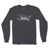 Men's Hockey Long Sleeve T, Vintage Black