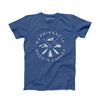 Men's Crest T-shirt, Blue