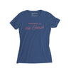 Women's Beach T-shirt, Blue