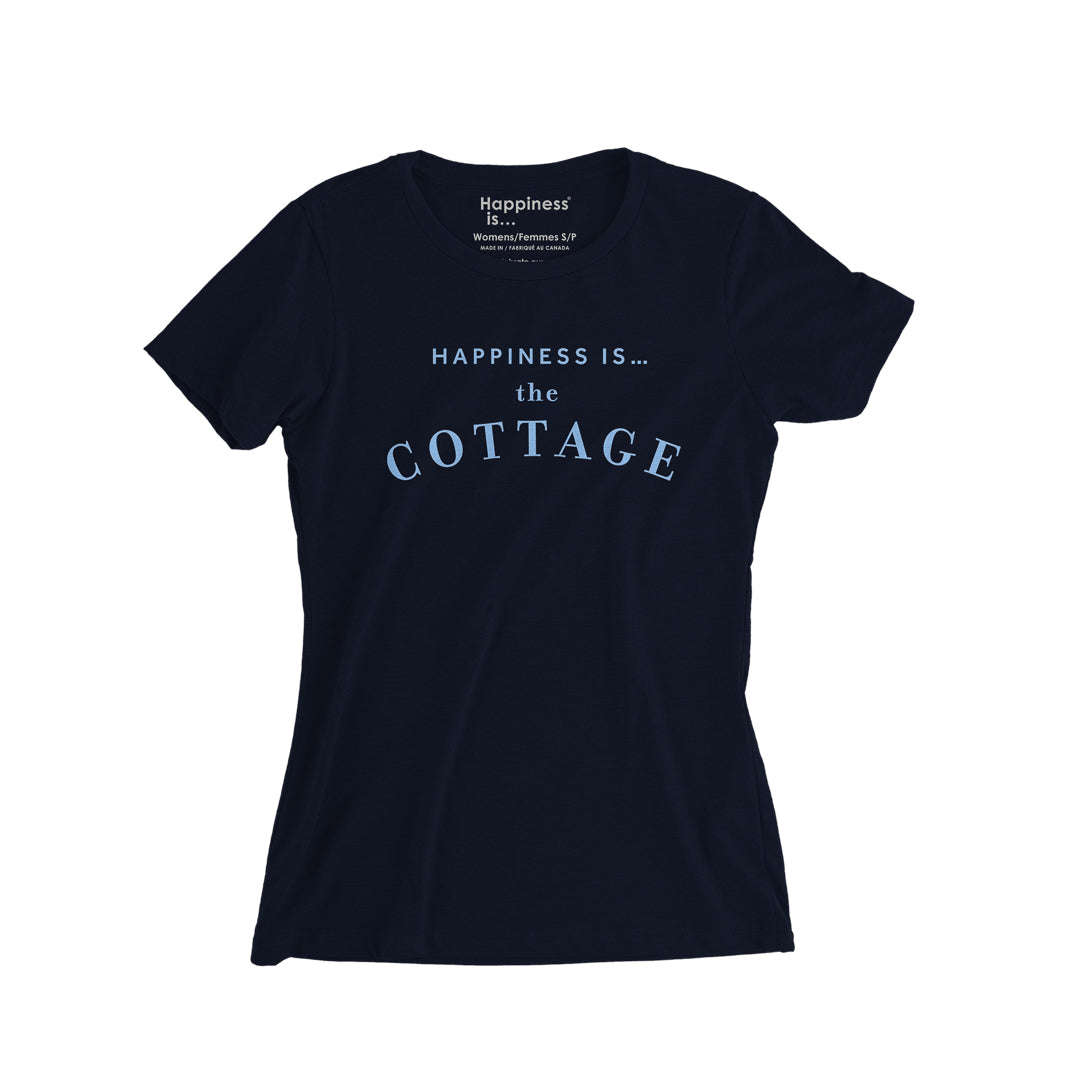 Women's Cottage T-Shirt, Navy