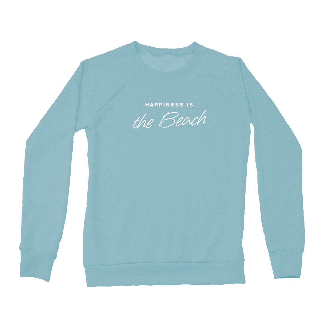 Women's Beach Crew Sweatshirt, Teal