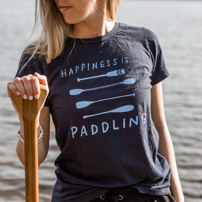 Women's Paddling T-Shirt, Navy
