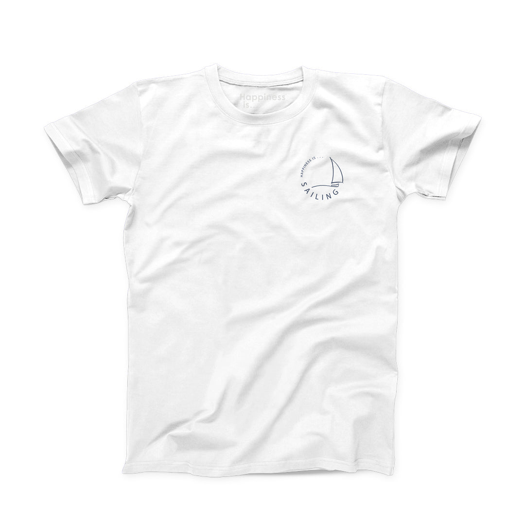 Men's Sailing T-Shirt, White