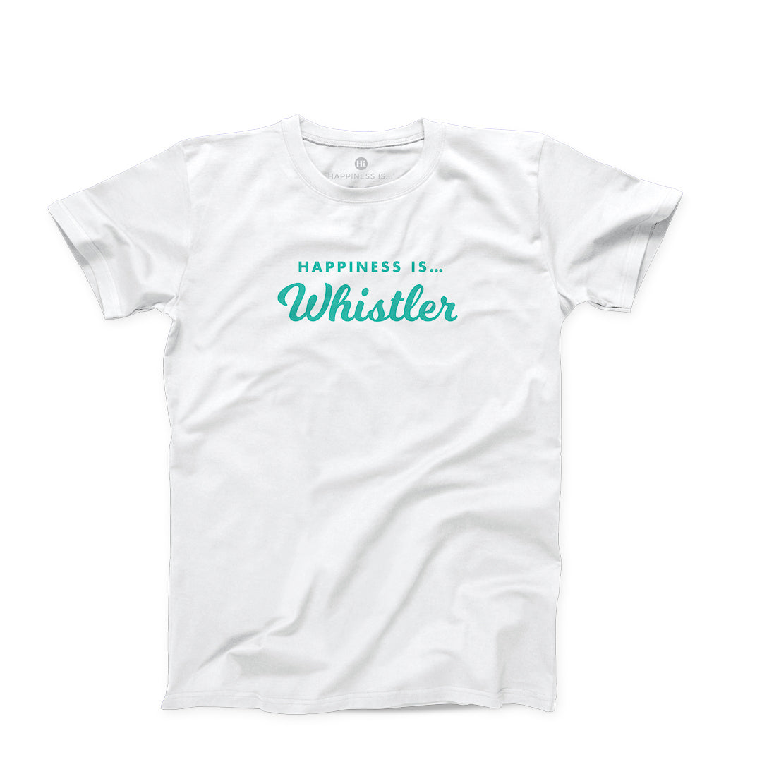 Men's Whistler T-Shirt, White