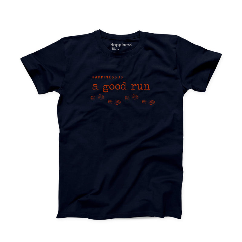 Men's Good Run T-Shirt, Navy