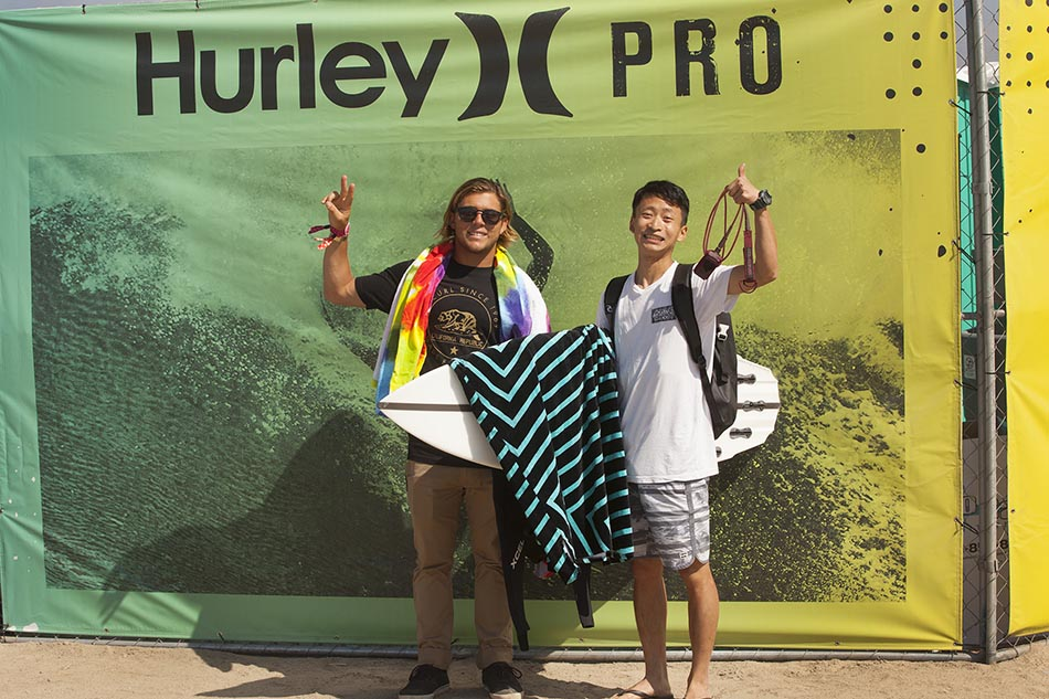 Jay Han On Winning The Hurley Pro VIP Sweepstakes