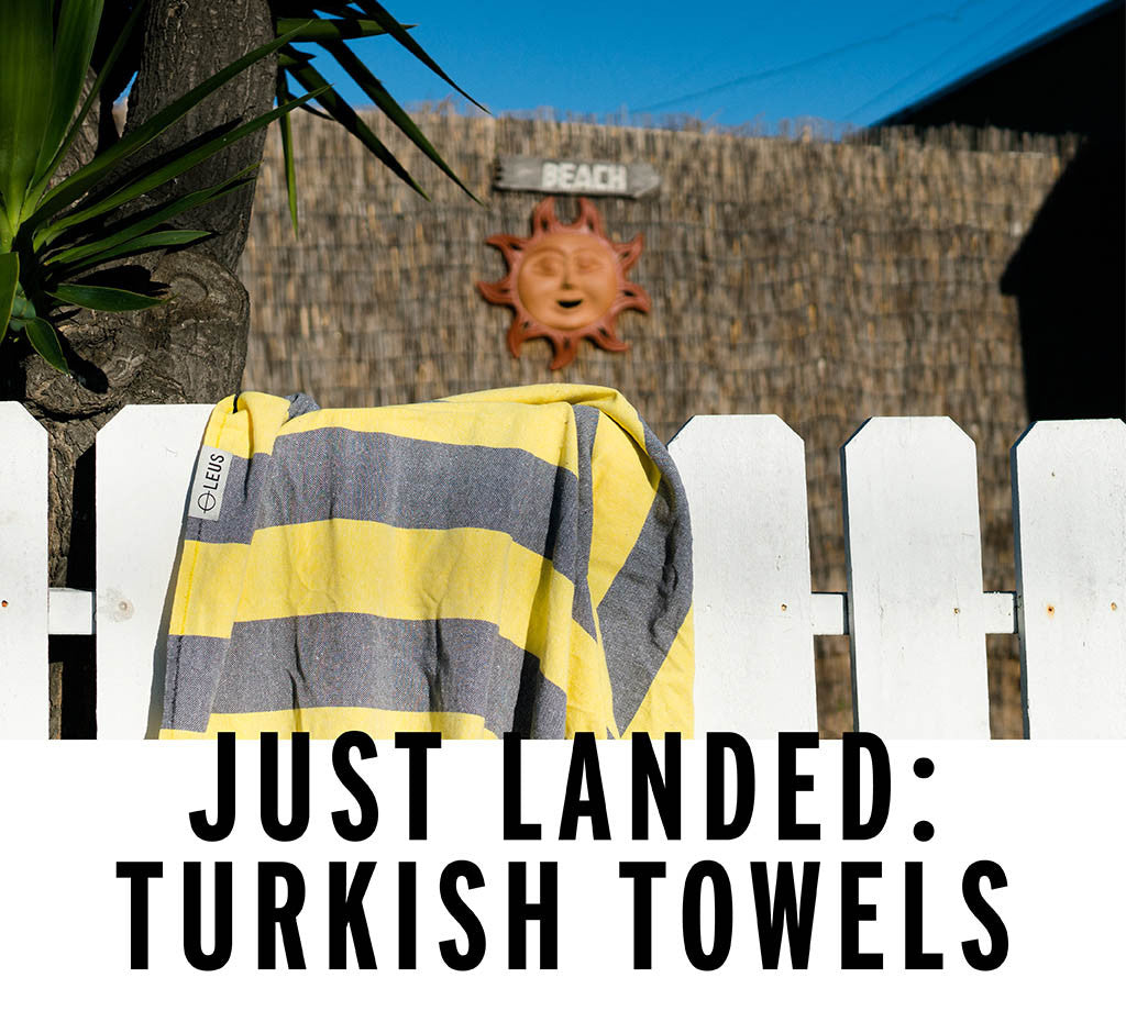 Just Landed: Turkish Towels