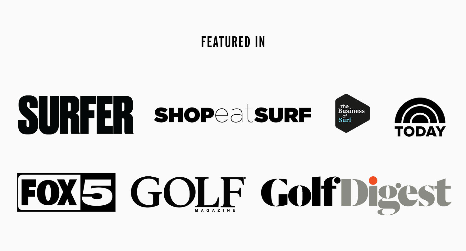 LEUS California Featured Press Surfer Golf Digest Today Show
