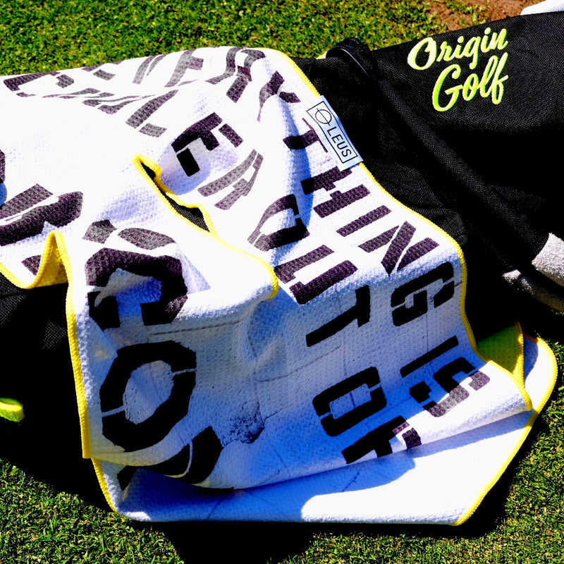 Origin Golf x LEUS Golf Towel