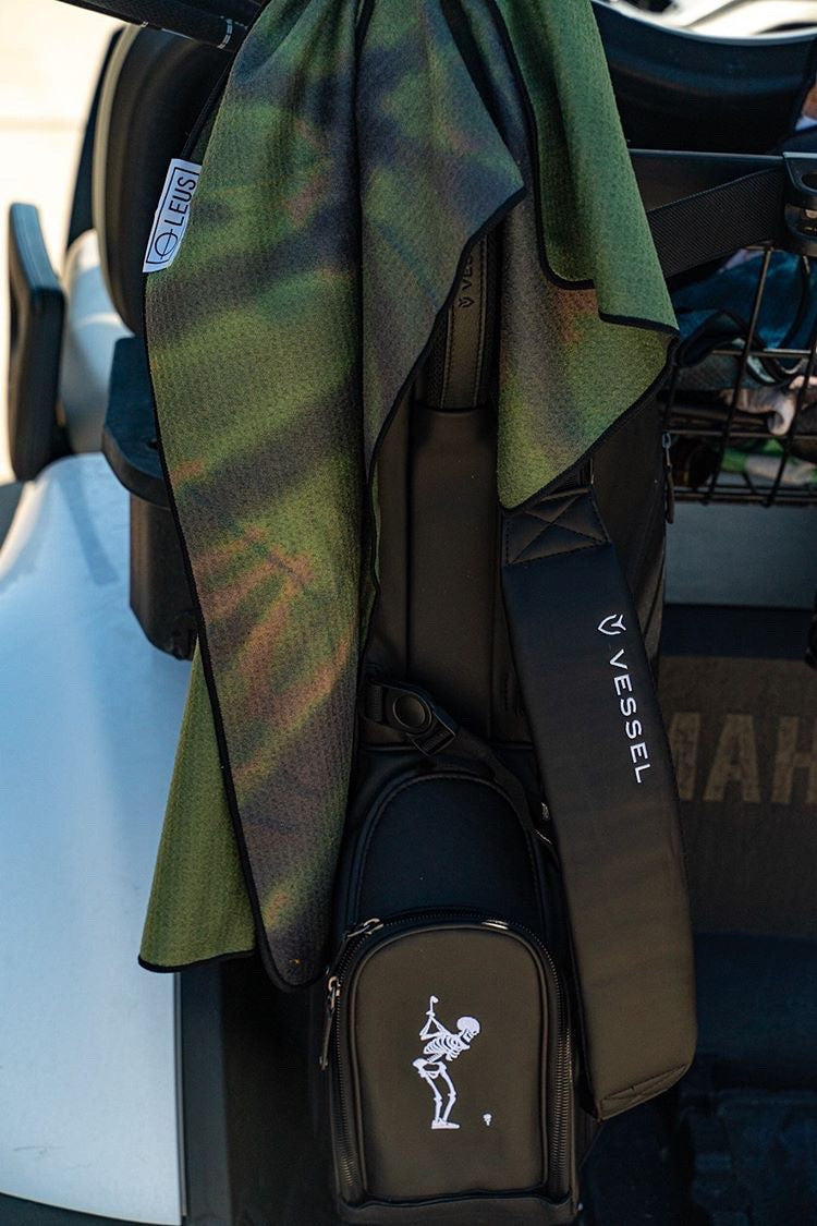 Tie Dye Camo Golf Towel - LEUS Towels