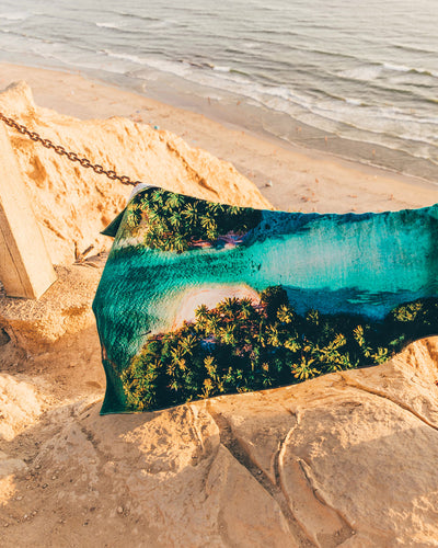 Changing Tides Foundation Beach ECO Towel - LEUS Towels