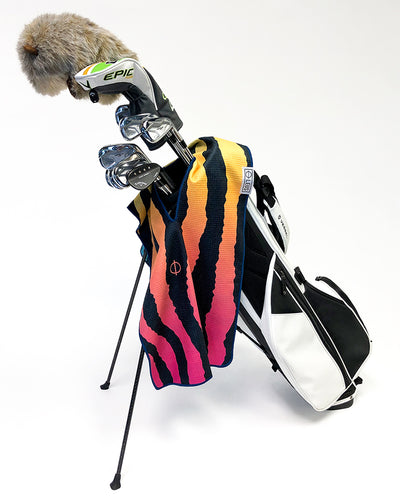 Tiger Golf Towel - LEUS Towels