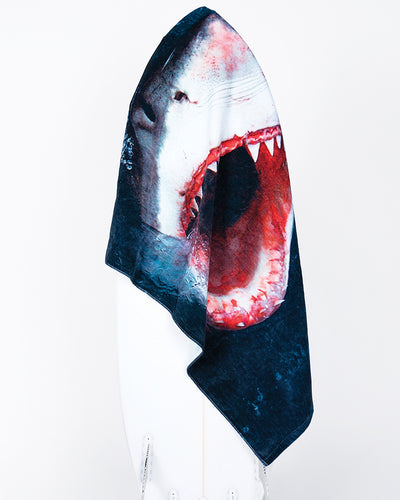 Great White Beach Towel - LEUS Towels