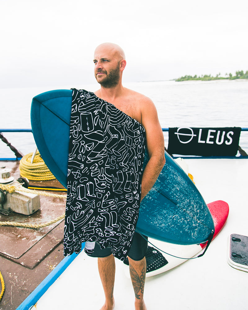 Lucas Beaufort x LEUS Beach Towel