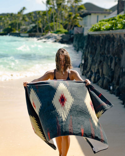 Heritage Beach Towel - LEUS Towels