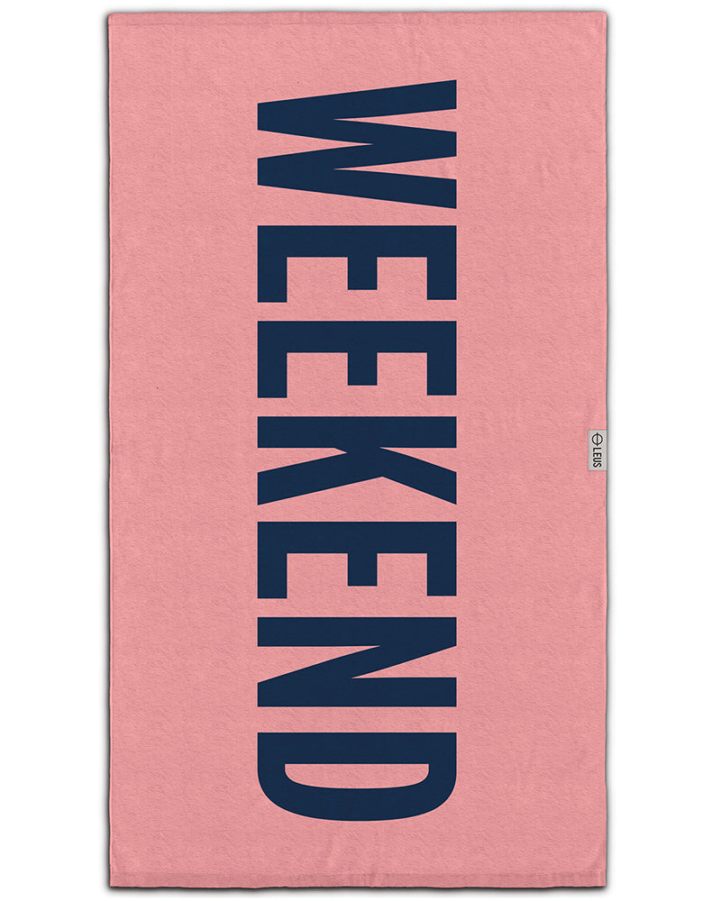 Weekend Beach Towel