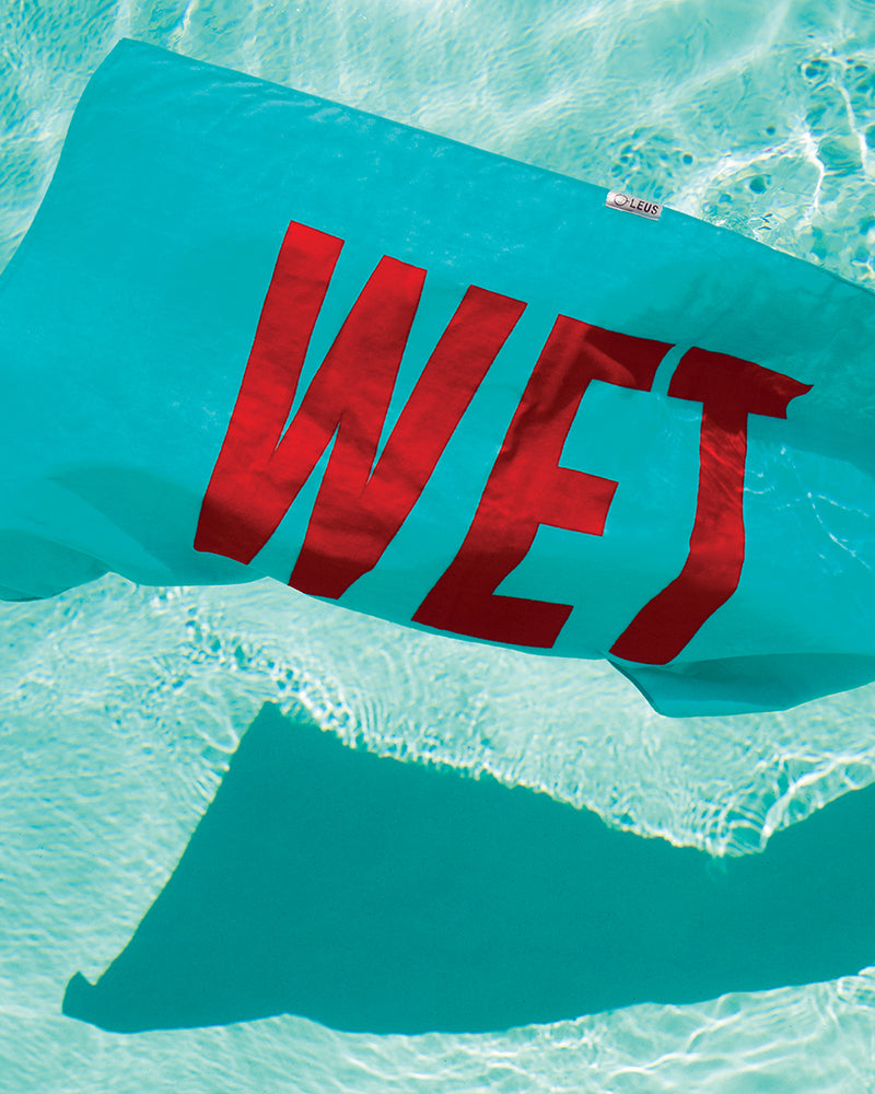 Wet Beach Towel