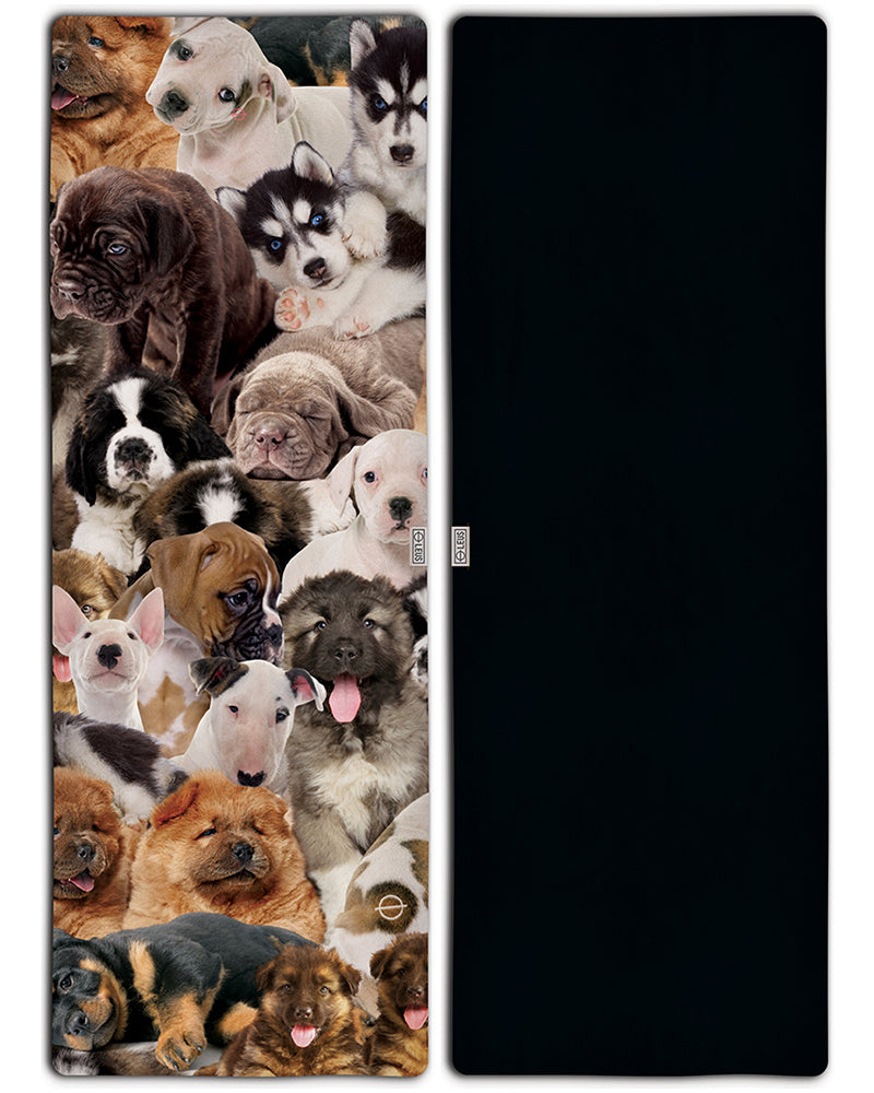 Puppy Party Yoga Towel