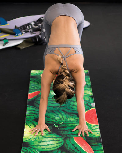 Watermelon Wonderland Yoga Towel - LEUS Towels