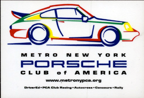 DECAL - METRO NEW YORK PCA 3""