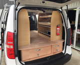 Van False Floor with Drawers