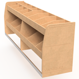 """Shorty Double"" Half Height 3 Shelf"