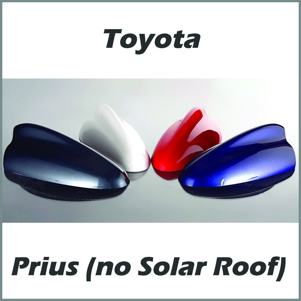 Toyota Prius without Solar Roof Shark Fin Antenna