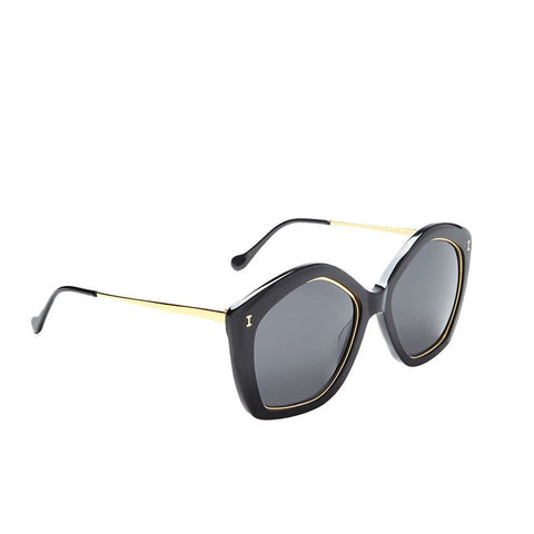 """Terry"" Black Sunglasses"
