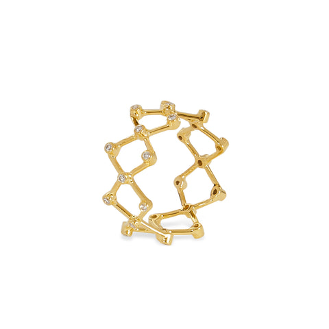 """MINI ZIGZAG"" RING"