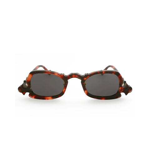 """ARSENIC"" TORTOISE / GREY SUNGLASSES"