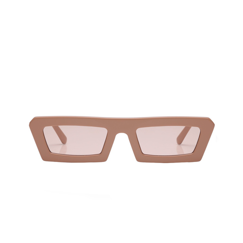 """SHIPWRECKS"" CARAMEL SUNGLASSES"