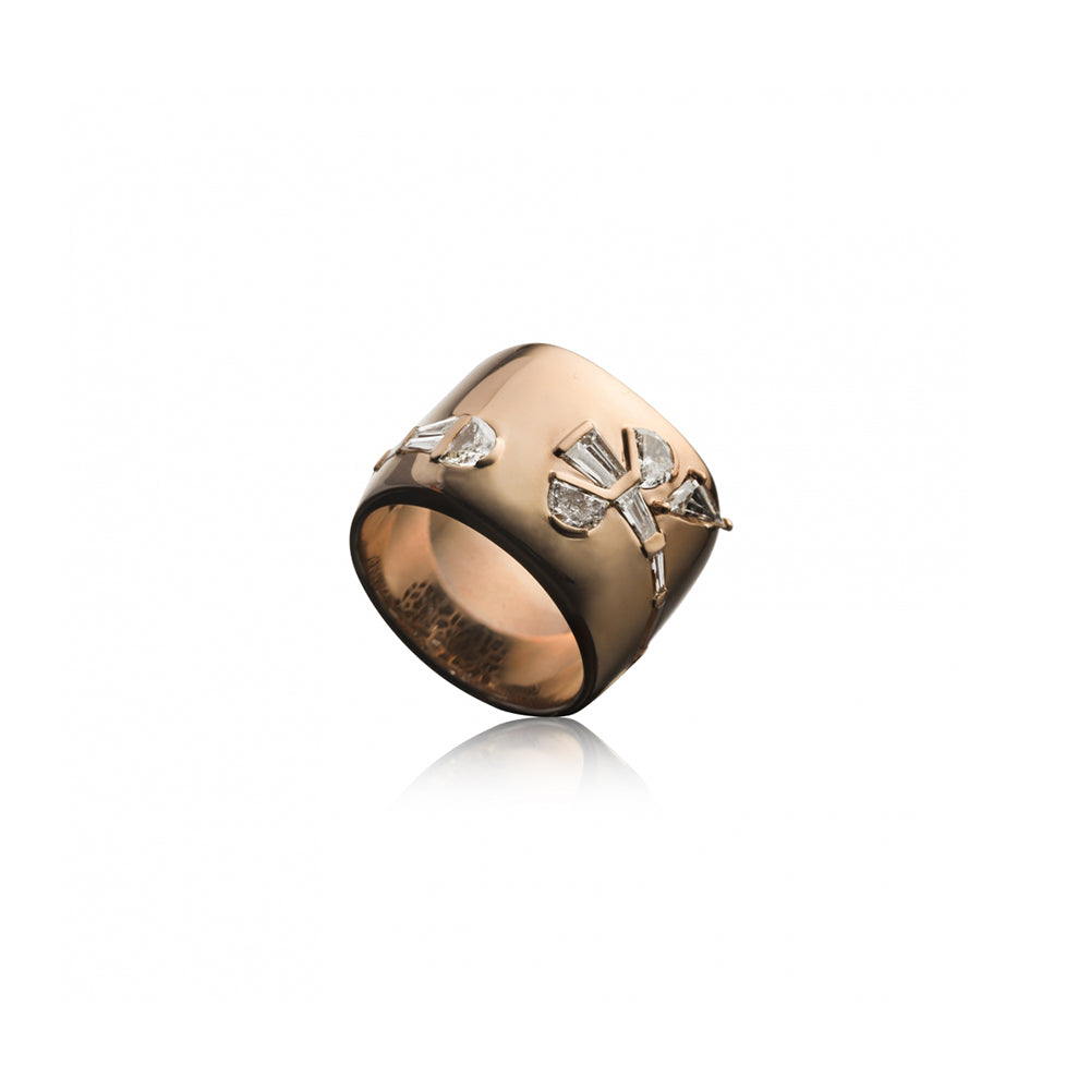 """Wrapped Crocus Ring"""